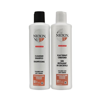 Nioxin System 3 Cleanser & Scalp Therapy Duo Set