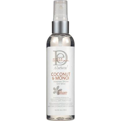 Design Essentials Coconut & Monoi Intense Shine Oil Mist