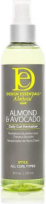 Design Essentials Natural Almond & Avocado Daily Curl Revitalizer