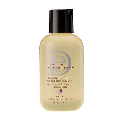 Design Essentials Botanical Oils Hair and Body Moisturizer