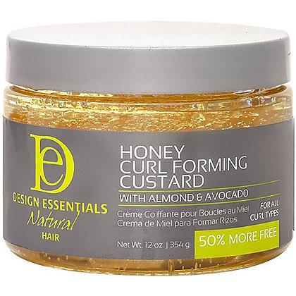 Design Essentials Natural Almond & Avocado Natural Honey Curl Forming Custard
