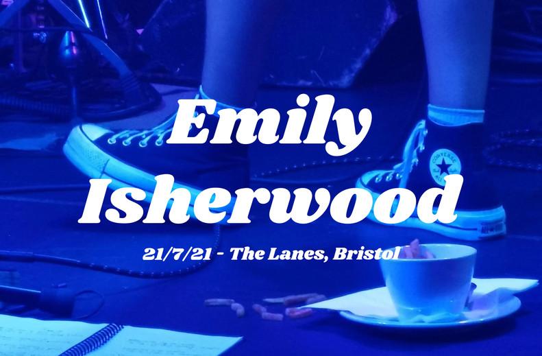 Emily Isherwood — A Woman On Fire