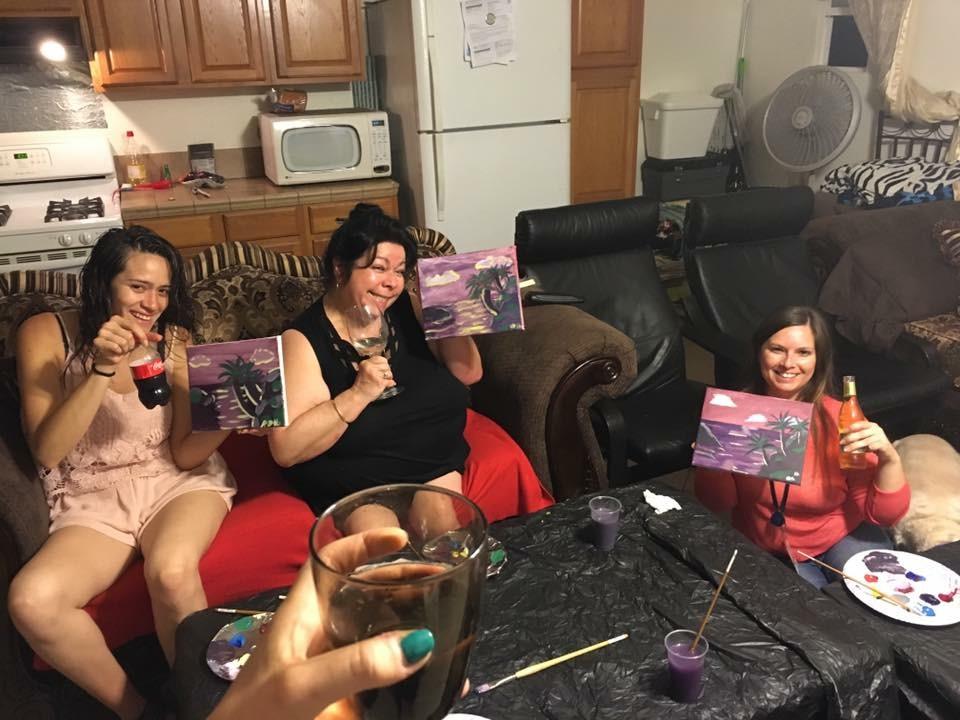 Birthday Party Girls!