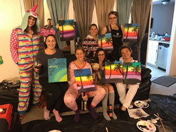 Wine and Paint (and Onesies)