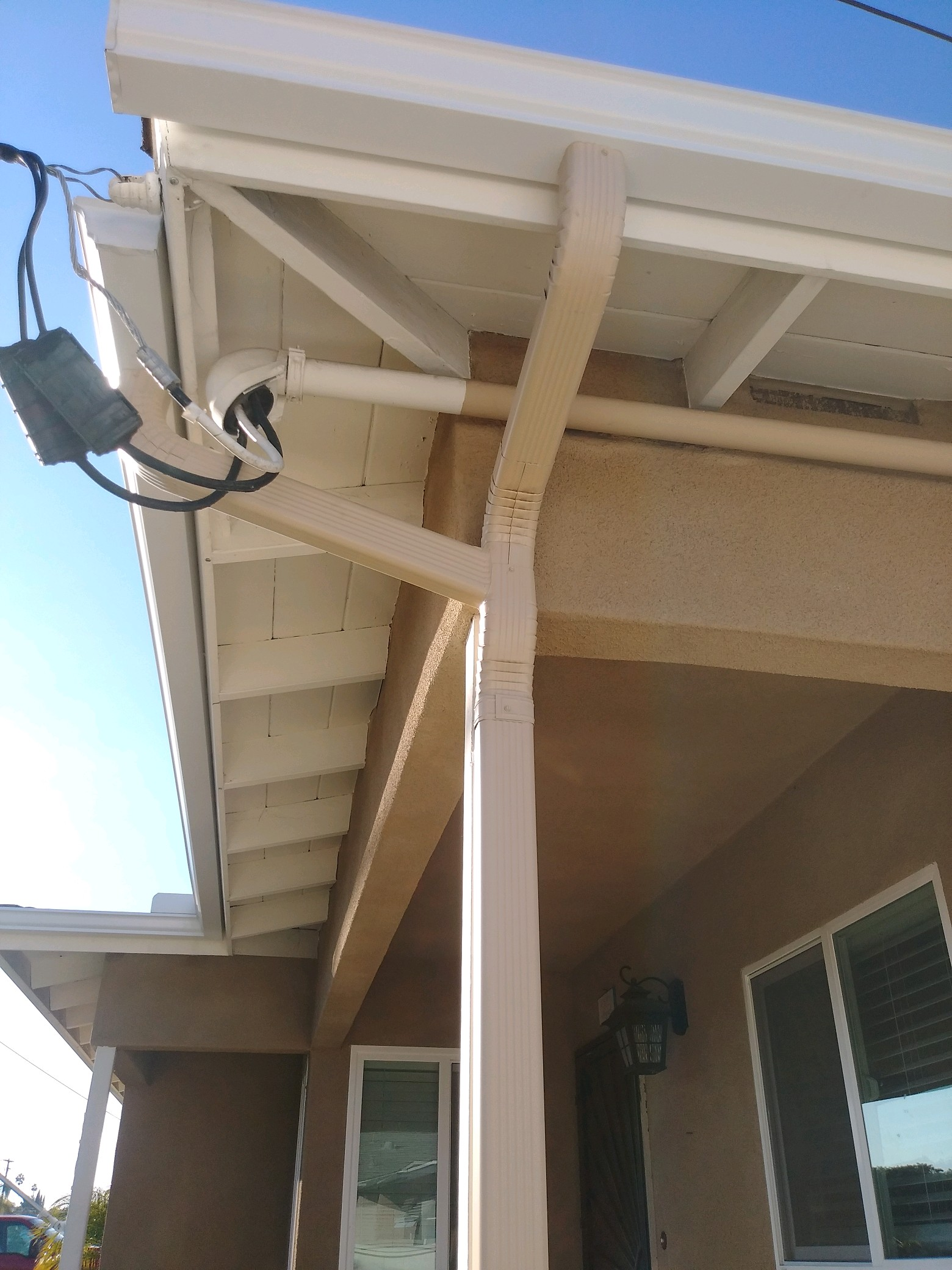 seamless rain gutters- project completed