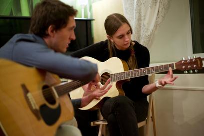 Индивидуальные уроки гитары в музыкальной школе на Павелецкой