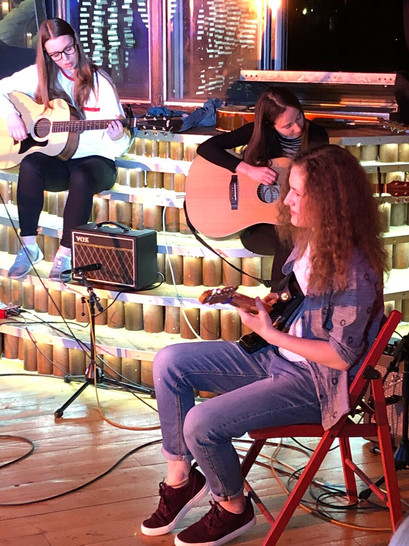 Музыкальная рок-школа на Павелецкой. Отчетный концерт учеников