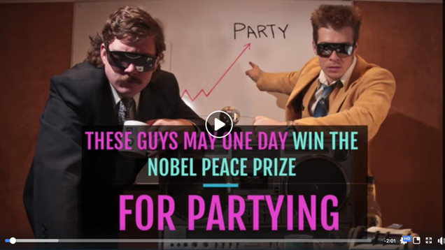 The Nobel Peace Prize for...Partying?
