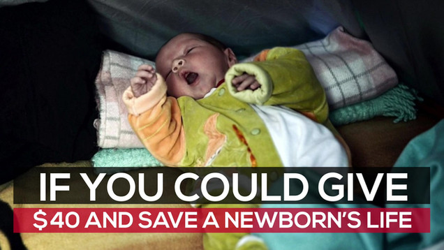 Help Syrians With Baby Boxes
