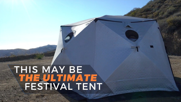 The Ultimate Festival Tent