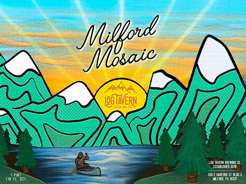 Milford Mosaic: 4-Pack / 16oz Cans