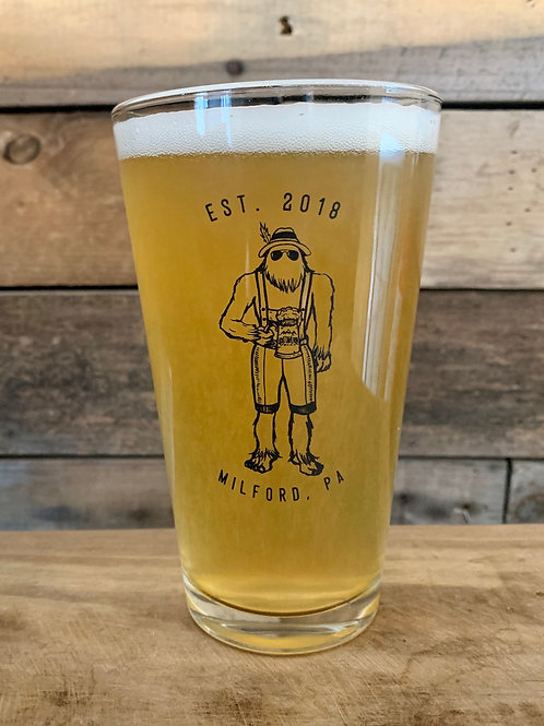 Oktoberfest - Yeti Logo Pint Glass