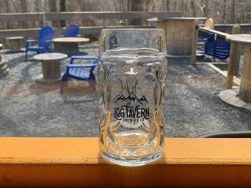 Stein - Log Tavern Brewing Oktoberfest Mountain Logo Stein