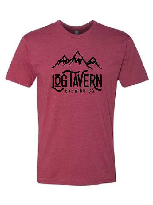 Mountain Logo- T-Shirt w/ Yeti on Back Left