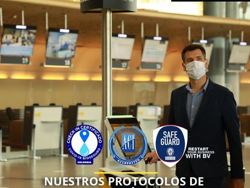 El Dorado obtiene la Acreditación de Medidas Sanitarias para Aeropuertos de ACI