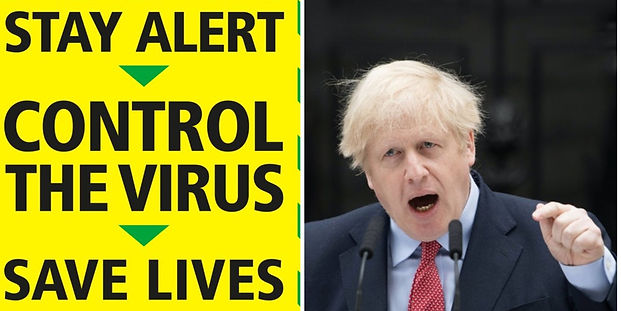Not clear on Boris's Sunday message? This may help - read latest Gov't regs on what you can and can't do following 11 May easing of Covid-19 lockdown restrictions.