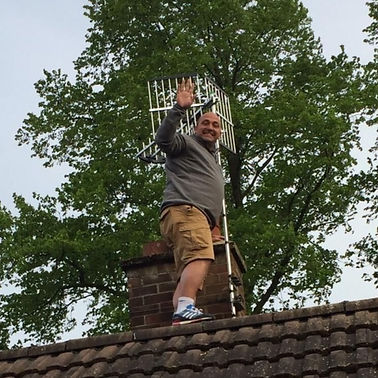 There ain't no job too high enough for Tisbury Neighbourhood Response's Dean Green!