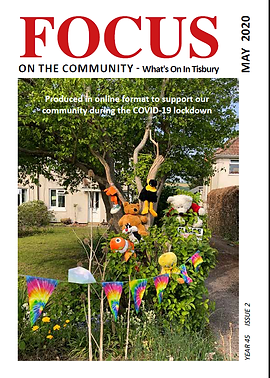 Download your copy of the May issue of Tisbury Focus Magazine which is packed with useful community  information and contacts during Covid-19.