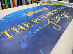 The Polar Express Uncle Lukes Banner