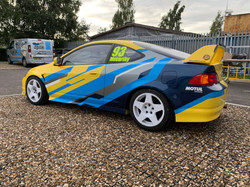 Race Car Wraps UK norfolk suffolk