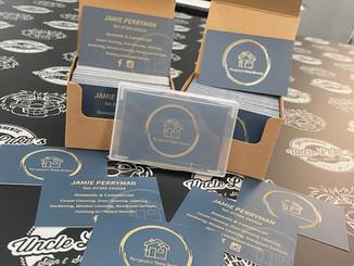 Custom Business Cards With Spot UV