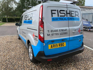 Vehicle Graphics For Fisher Electrical