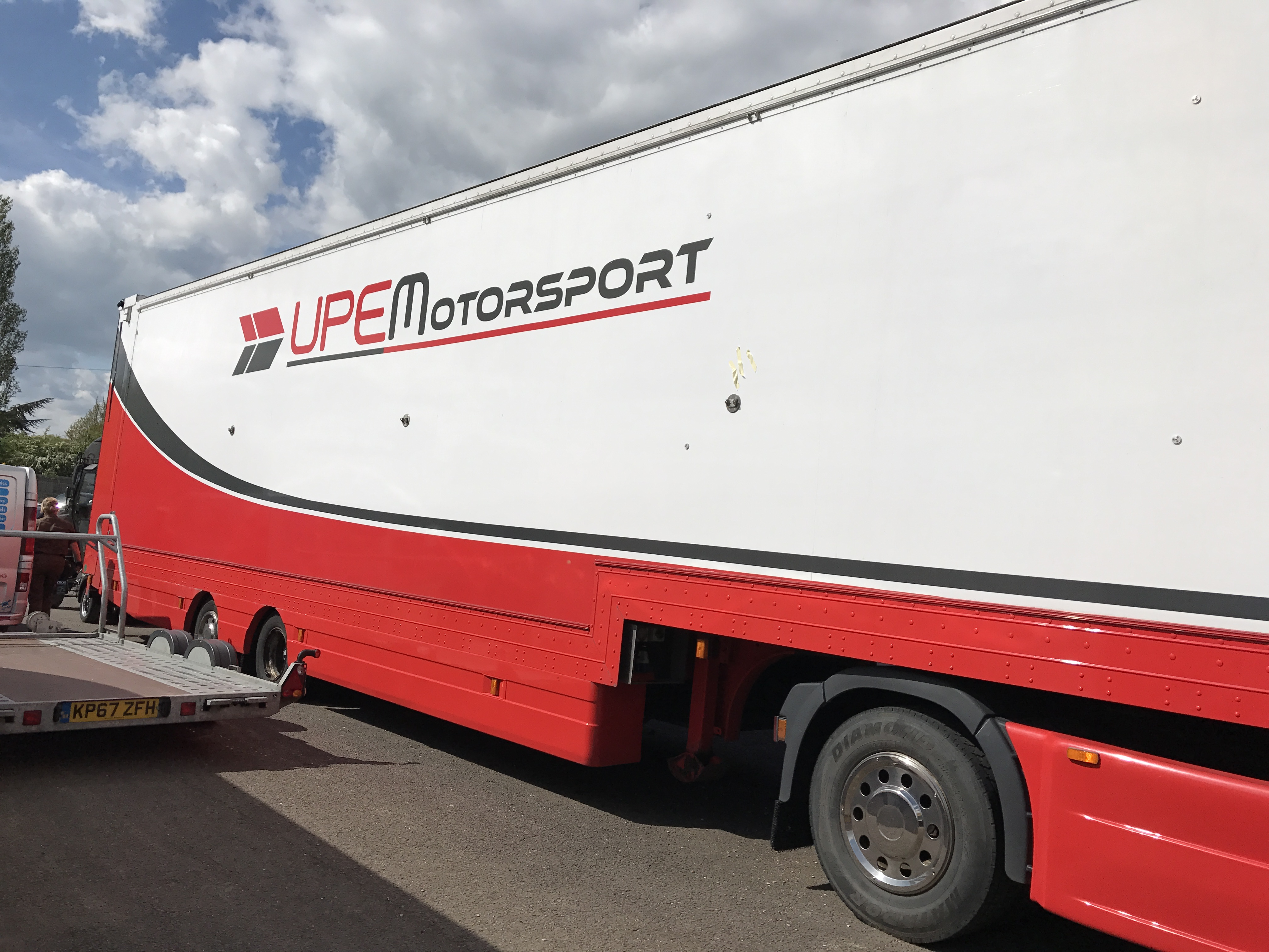race transporter graphics