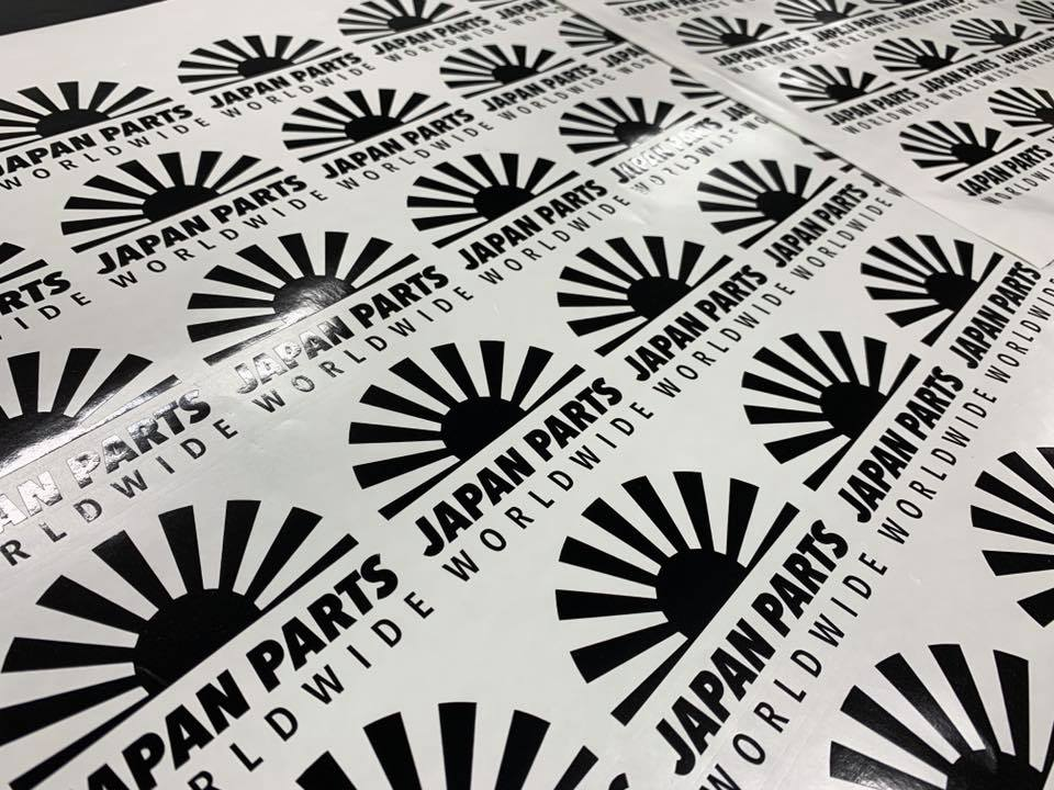 Jap Parts Stickers Uncle Lukes Swaff