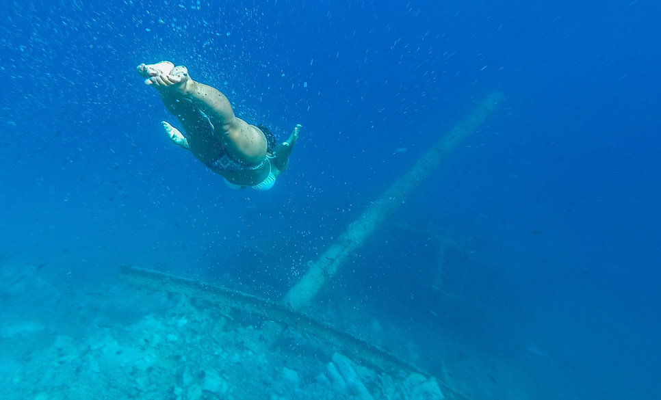 Shipwreck Metkovic, Medici - Omis riviera, Dalmatia