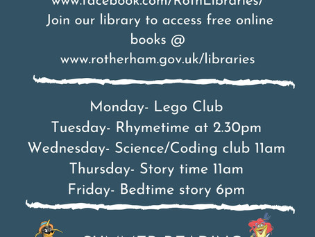 Rotherham Library Free Services