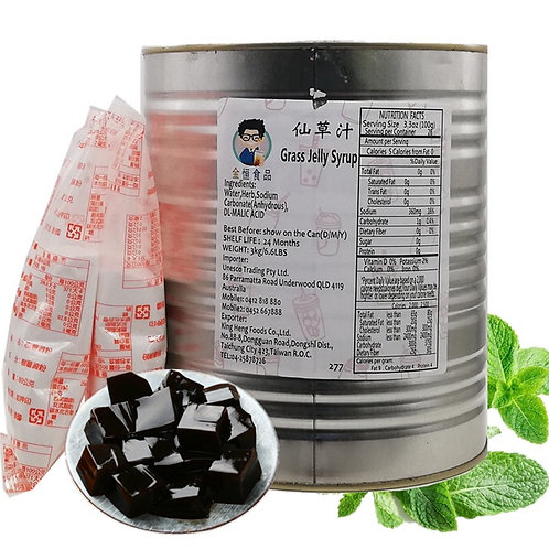 Grass Jelly Syrup (3kg)