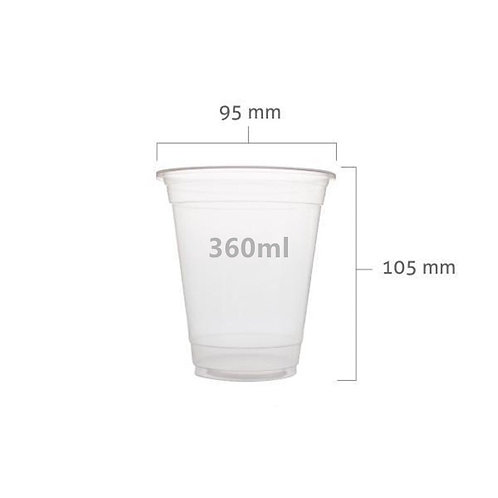 PP Y360 clear cup