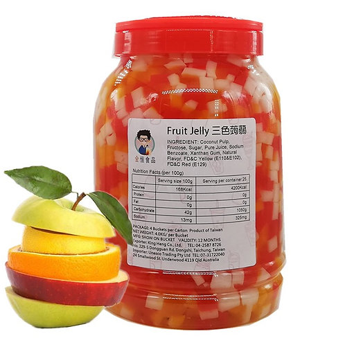 Rainbow (Fruit) Jelly (4kg)