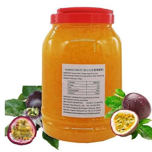 Passionfruit Jelly (4kg)