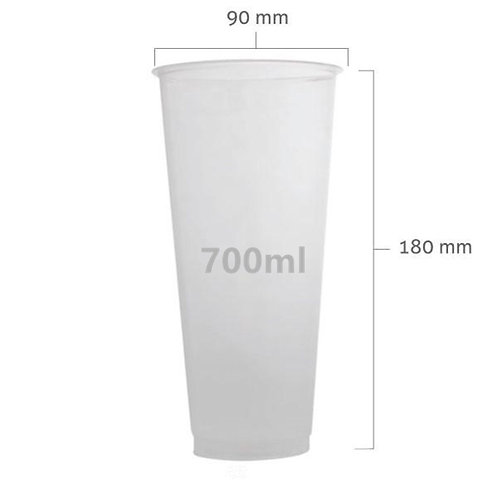 PP 500A or 700A clear cup