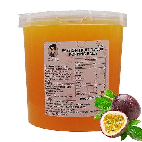 Passionfruit Flavor Popping Balls(3.2kg)