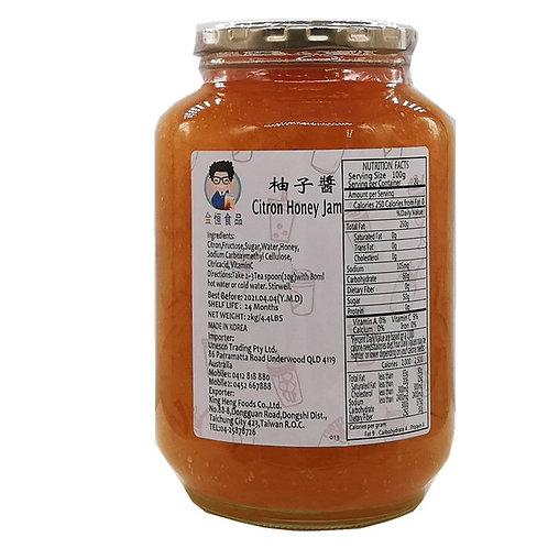 Citron Honey Jam