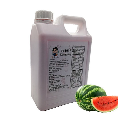 Watermelon Flavor Concentrated Syrup (2.5Kg or 2.1L)