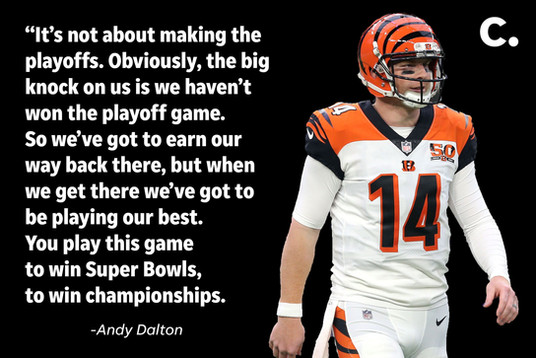 Andy Dalton Social Quote Card