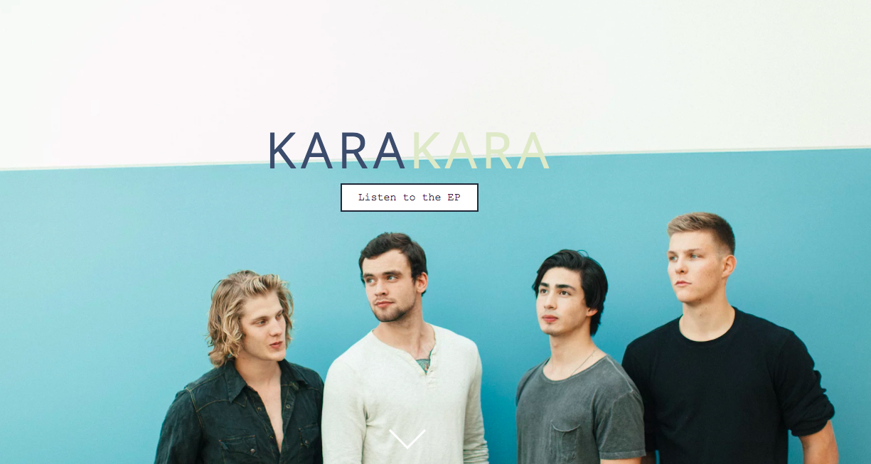 KaraKara Artist Website