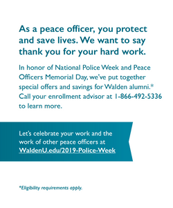 Walden University Direct Mailer