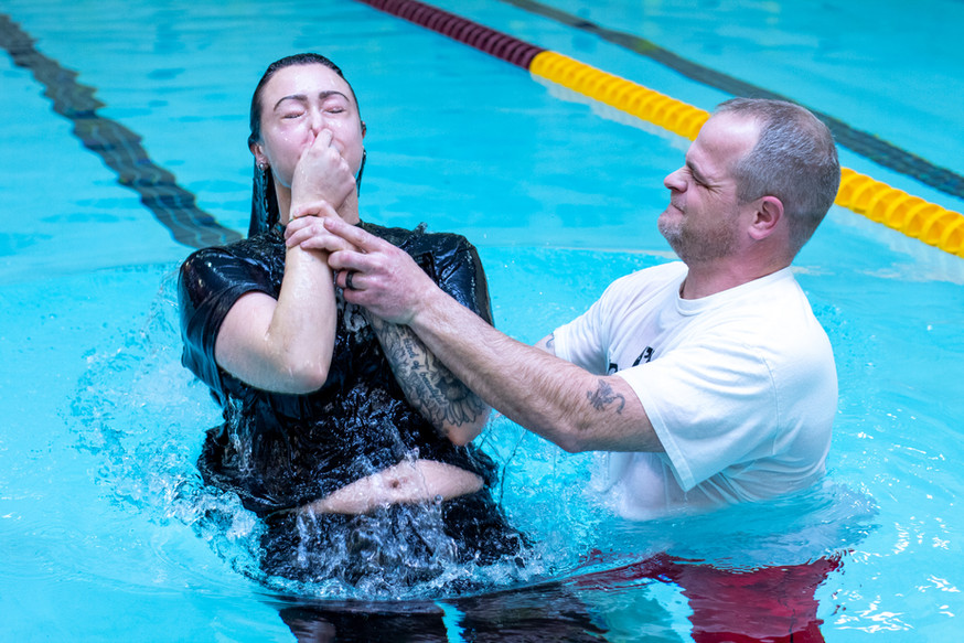 Baptism at The MIX