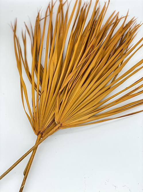 Palmblatt ocker / 1 Stück