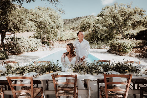 Hochzeit auf Sardinien , Strandehochzeit , Italienhochzeit