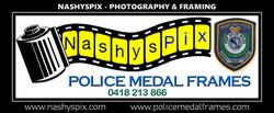 _NashysPix Logo Framed Police