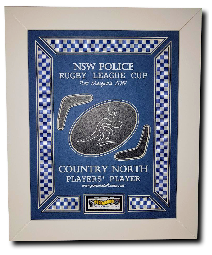 Police League Frame Sample