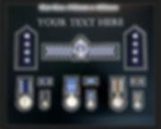 Police Medal Retirement Frame