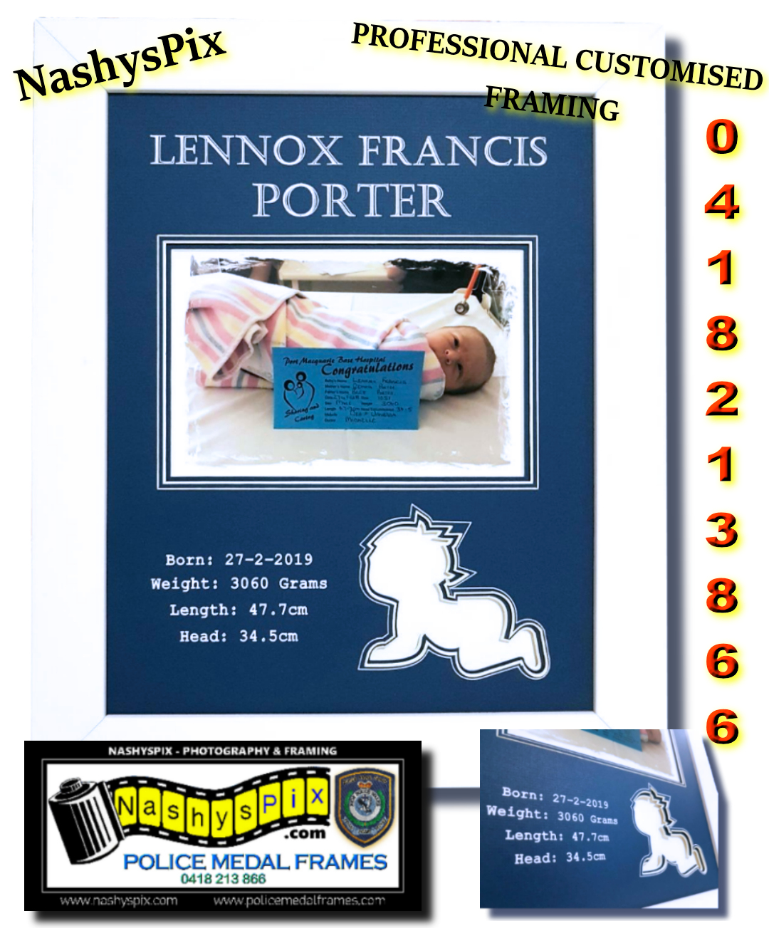 Z Lennox BABY FRAME 16-4-2019
