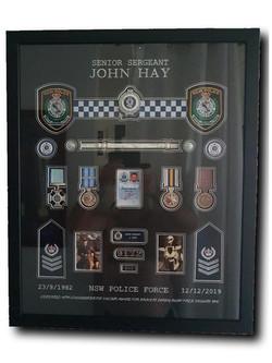 John Hay Police Frame