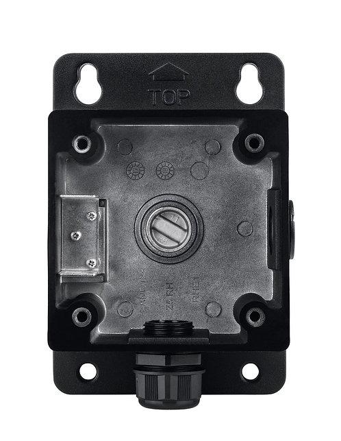 Installationsbox schwarz für Mini-Dome-Kamera